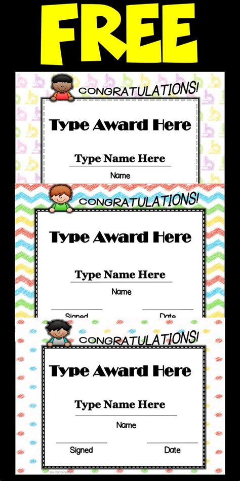 outstanding excellence in performance awards certificate template