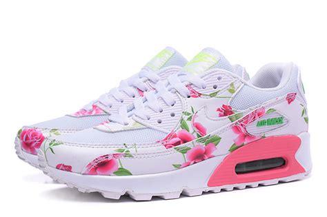 Airmax Flowers nike air max 90 chaussures femmes fleur blanc