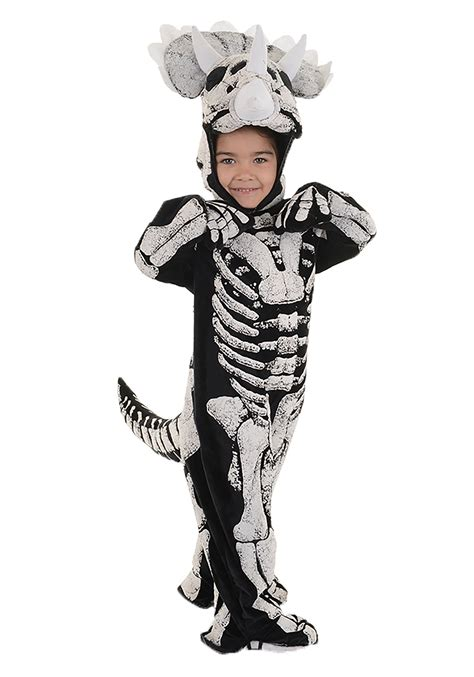 child dinosaur costume toddler child triceratops fossil costume for boys