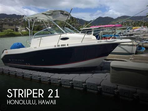 boats for sale hawaii striper 21 for sale in honolulu hi for 47 800 pop yachts