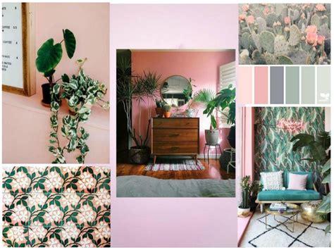 home decor design board mood board pink and green love affair in home design