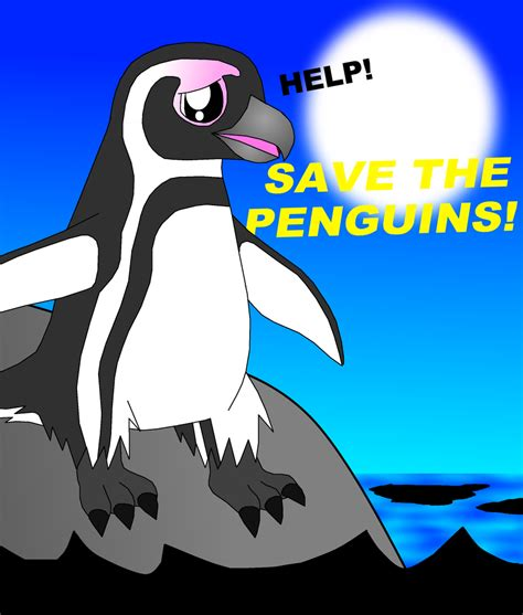 Save The Penguin chinstrap penguins favourites by empyreanpenguin