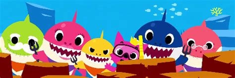 Baby Shark Background | baby shark images shark family wallpaper and background