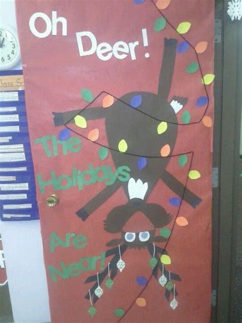 oh deer classroom decoration craft door decoration great ideas for doors at school