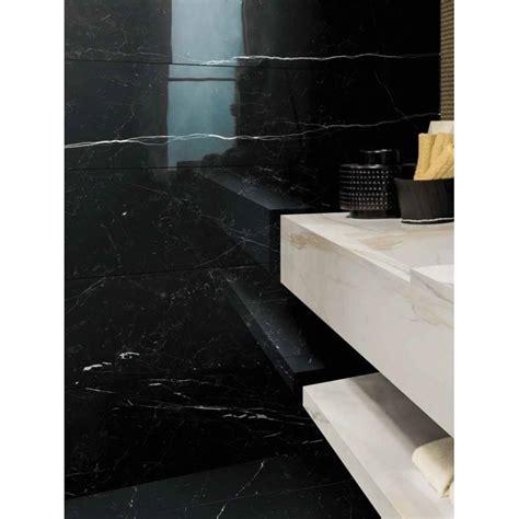 Nero Marquina Porcelain Marble Tile   STONEWOOD