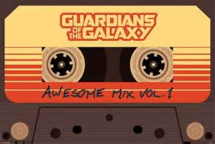 Cheapest Wall Murals awesome mix vol 1 guardians of the galaxy poster buy online
