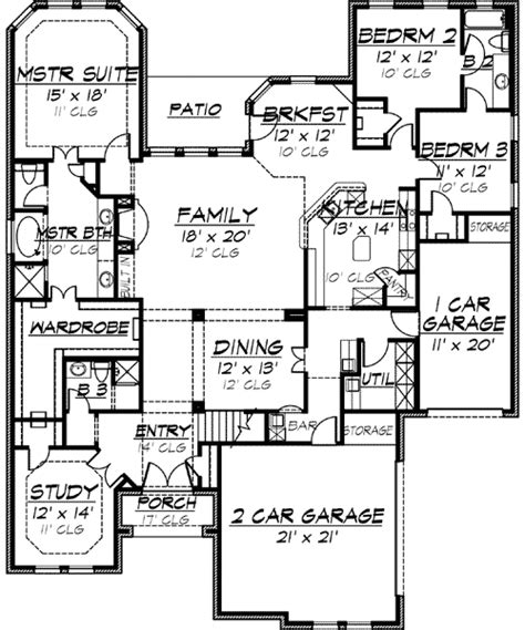 house plans with future expansion future expansion 36112tx 1st floor master suite bonus