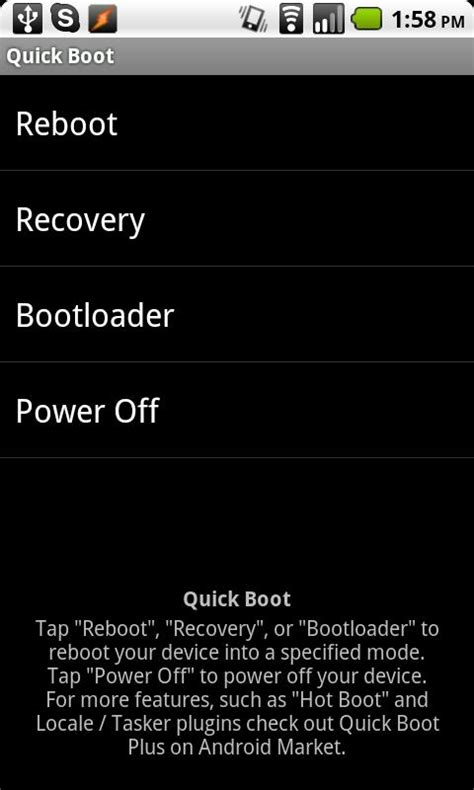 quickboot apk boot reboot 4 8 apk android tools apps