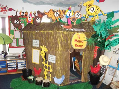 book themes ks2 african hut reading corner classroom wow classrooms