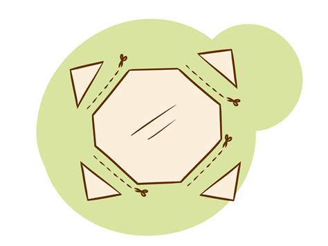 How To Make A Paper Octagon - 4 ways to make an octagon wikihow