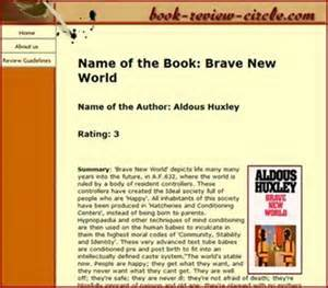 Writing The Name Of A Book In An Essay by Book Review Guidelines