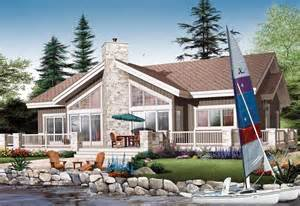 lakefront house plans lakefront house plan chp 35336 at coolhouseplans