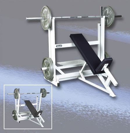 self spotting weight bench wilder free weight self spotting incline press the bench