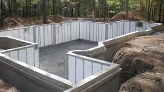 Types Of Foundations For Houses precast insulated basement foundation walls lower cost