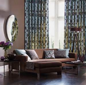 Curtain Panels For Large Windows 53 Living Rooms With Curtains And Drapes Eclectic Variety