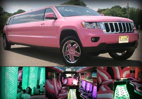 Pink Jeep Grand Pink Jeep Limo And Jeep Grand On