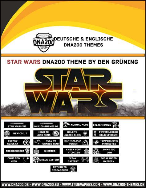 themes dna 250 star wars dna200 theme themes and custom screens evolv