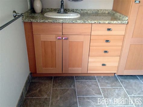 can i use kitchen cabinets in the bathroom ikea kitchen made into custom bathroom vanity ikea hackers ikea hackers