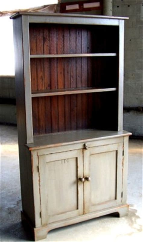 Rustic Kitchen Hutch by 3ft Open Top Pine Hutch Rustic China Cabinets And