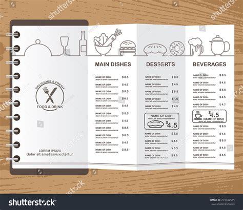 design menu in powerpoint restaurant menu background design