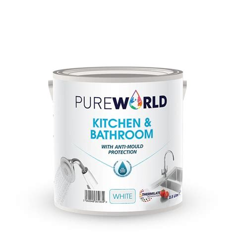Thermo Insulating Paint Pure World Kitchen & Bathroom