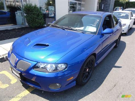 Pontiac Blue by 2006 Impulse Blue Metallic Pontiac Gto Coupe 52454135