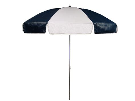 Vinyl Patio Umbrella 7 1 2 Diameter Patio Navy Blue White Commercial Outdoor Umbrella With Tilt Heavy