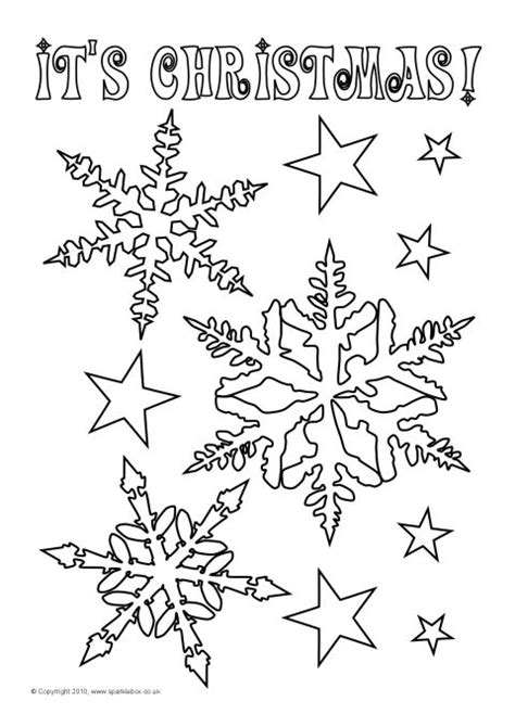christmas colouring sheets sb sparklebox