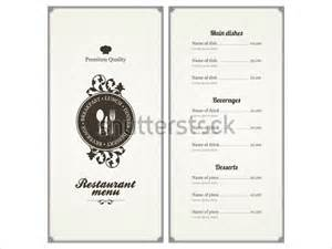 restaurant menu card design templates menu card template 42 free word psd pdf eps