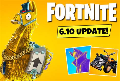 fortnite update  time revealed patch notes