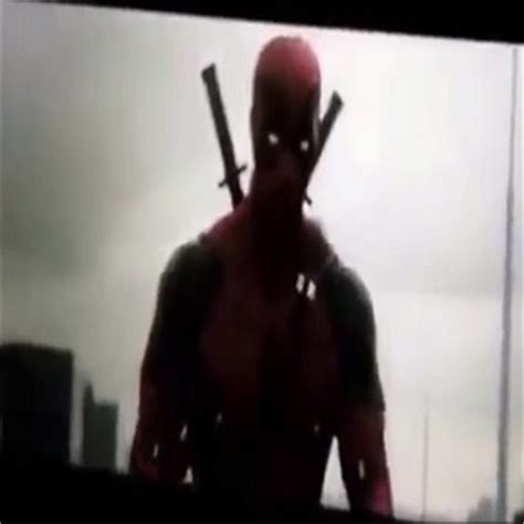 deadpool leaked footage deadpool test footage leaked update 6