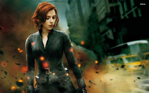wallpaper black widow black widow the avengers wallpaper