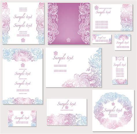 vector images wedding invitations template of wedding invitation vector free vectors