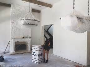 kylie jenners bedroom inside kylie jenner s 163 1 73m calabasas house in los