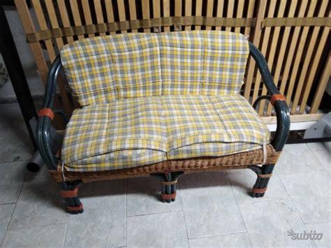 divanetto vimini divano vimini posot class