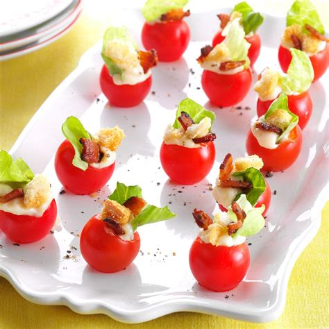 appetizers ideas mini blt appetizers recipe taste of home