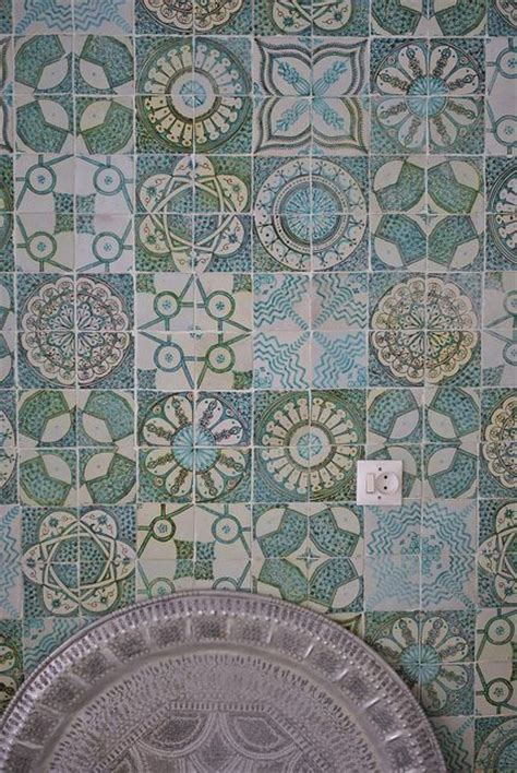 Handmade Moroccan Tiles - moroccan tiles by wood wool stool handmade tiles can be