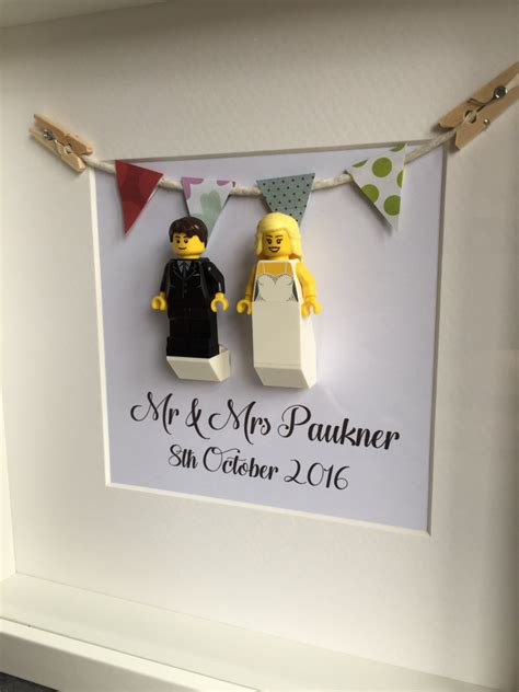Where Can I Buy A Lego Store Gift Card - lego personalised wedding gift anniversary gift by ourbricklibrary