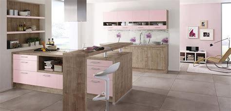 cocinas en color rosa cuarzo de tendencia
