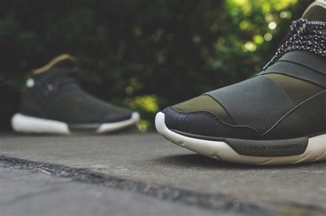 Sepatu Adidas Y 3 Qasa Adidas Y 3 Qasa High Olive Drab Sbd
