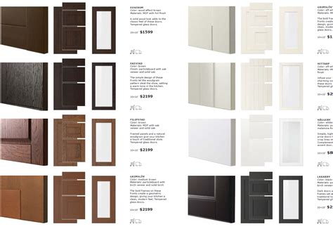 a look at ikea sektion cabinet doors inside ikea