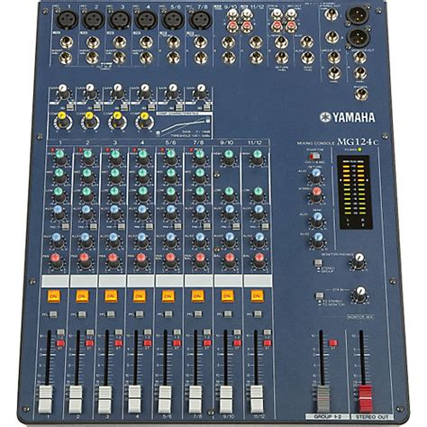 Harga Mixer Audio 4 Channel Yamaha yamaha mg124c 12 input stereo mixer with compression