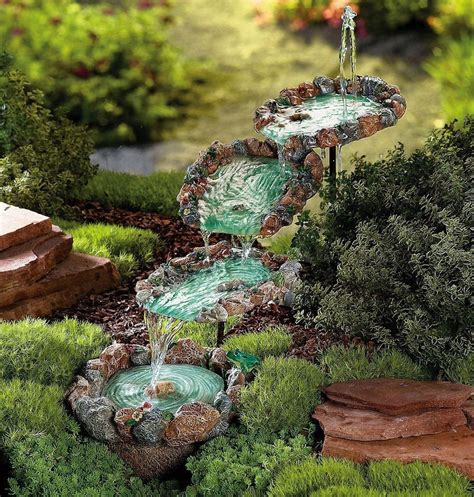 Outdoor Decor Garden Fountains Cascading Pools Garden Garden Yard Outdoor Decor Ebay