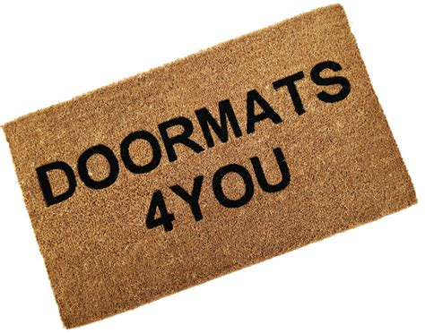 Doormat Design doormats for you a door mat for your home