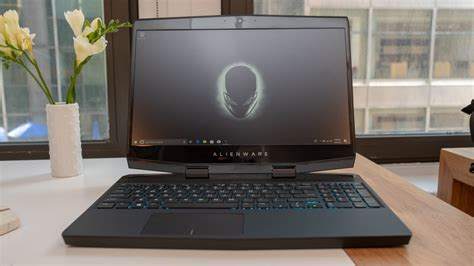 alienware m15 on review techradar