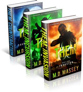 extinction undead apocalypse them paranormal apocalypse series books paranormal post apocalyptic fiction md massey