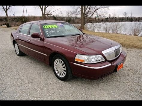 how can i learn about cars 2003 lincoln aviator user handbook 2003 lincoln town car signature red for sale dealer dayton troy piqua sidney ohio cp13814