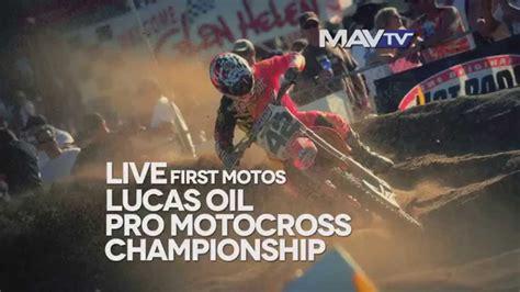 pro motocross live pro motocross live hangtown 1st motos