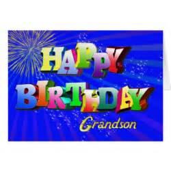 for grandson bright bubbles birthday card zazzle