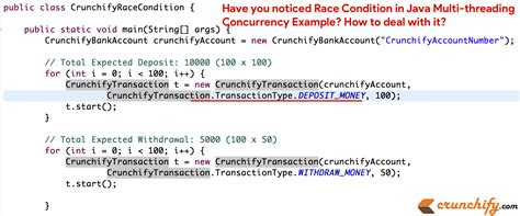 have you noticed race condition in java multi threading